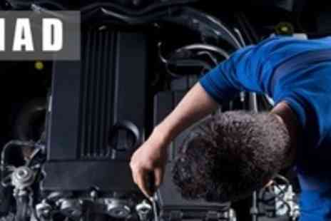 MAD Advanced Vehicle - Full Car Service Including Oil and Filter Change - Save 73%