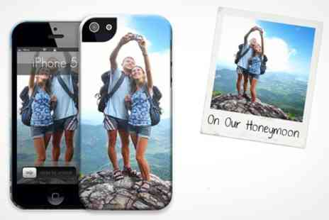 SkinzEU - Personalised Hard Cover for for iPhone 4, 4s or 5 and Samsung Galaxy SIII - Save 68%