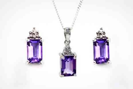 Victorias Candy - Amethyst Pendant - Save 71%