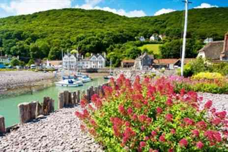 The Cafe at Porlock - Top Rated Dinner for 2 in Perfect Setting - Save 56%