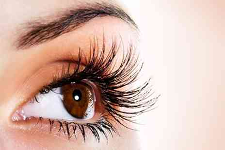 Stylistics - Full Set of Individually Applied Eyelash Extensions - Save 64%