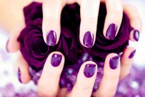 Glamor Hair and Beauty - Luxury Manicure or Pedicure - Save 64%