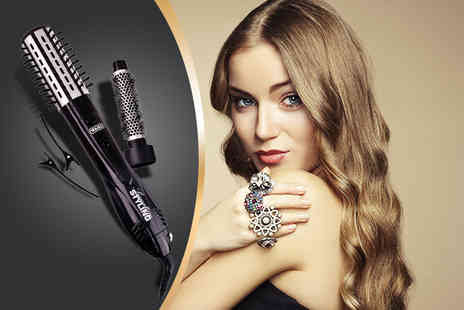 WAHL - 1000 watt signature glamour styler with 2 brush heads and 2 section clips - Save 48%