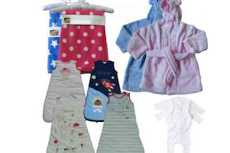 Brand Labels - Pitter Patter Baby Bundle For Children Aged 6 - Save 56%
