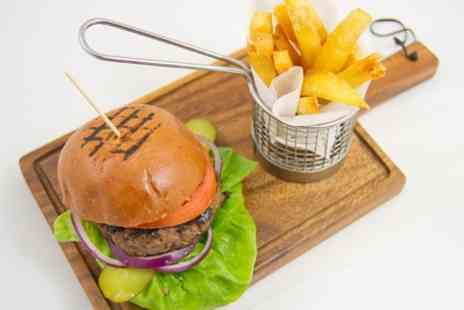 The Wesley - Burger, Chips and Beer For Two - Save 56%