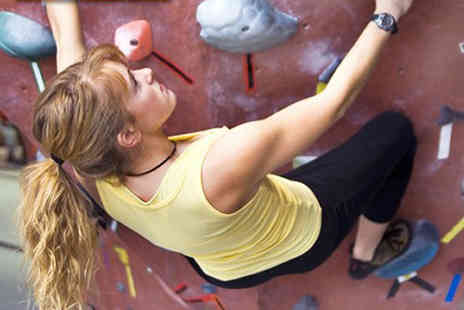 The Climbing Hangar - Full day of climbing for 2 incLluding annual membership - Save 70%