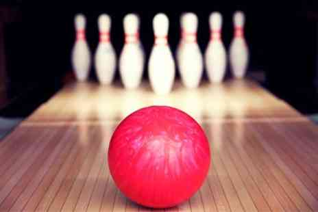 Stroud Bowl - Bowling and Burgers for Four - Save 55%