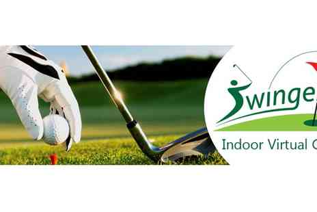 Swingers Golf - Two Hour Golf Simulation - Save 75%