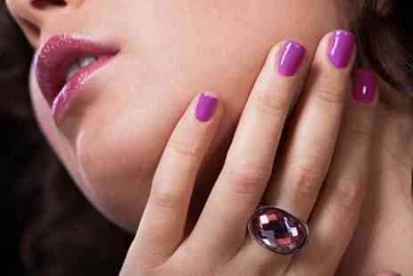 Absolute Nails & Beauty - Manicure or Pedicure - Save 50%