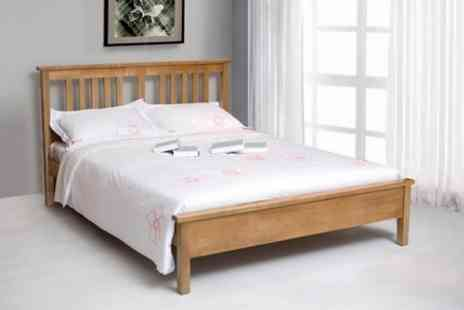 Sleep Design - Solid Oak Bed Frame - Save 17%