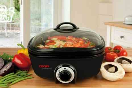 James Russell - Cooks Professional 8 in 1 Multi Cooker - Save 73%