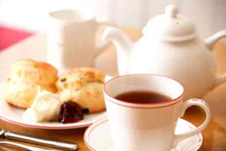 Bazil Brasserie - Cream Tea with cheese and fruit scones with clotted cream - Save 50%