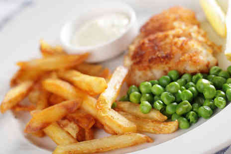 Two Brothers Fish Restaurant - Gourmet Eat-In Fish and Chip Dinner for Two - Save 58%