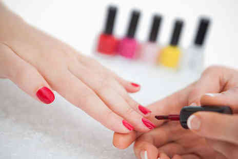 Beautiful Nails by Shell - Mini Manicure with Shellac - Save 56%