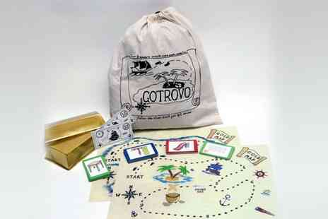 GOTROVO - Keep the kids busy this summer  hunt for treasure with a Gotrovo game - Save 50%