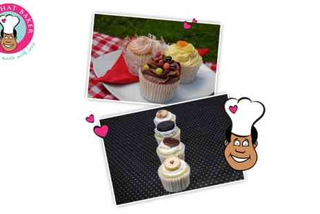 The Phat Baker - 12 Bespoke Cupcakes to Collect in Brighton - Save 60%