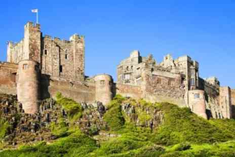Bamburgh Castle - Entry for 2 to Dramatic Bamburgh Castle - Save 31%