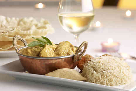 Lahori Shahenshah Karahi - Indian meal for two & glass of wine - Save 66%