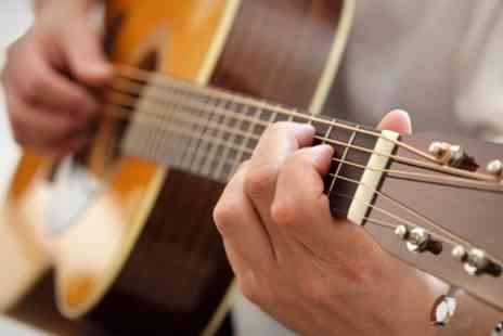 Fusion Music Studios - Two 60 Minute Guitar or Drum Lessons - Save 33%