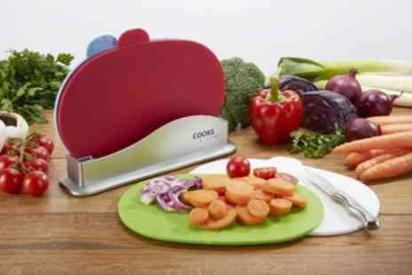 James Russell - Cooks Professional Chopping Board Set - Save 62%