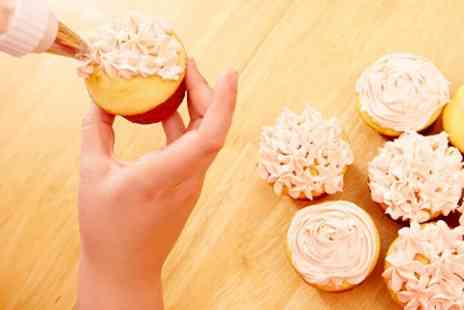 The Venue Cuisine - Cupcake Decorating Class For One Plus Buffet Lunch - Save 65%