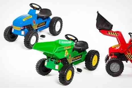 STO Racing Products - Kids Ride On Tractor and Trailer - Save 61%