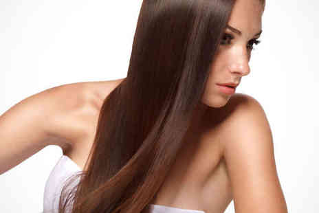 Blue Hair Design and Beauty - Haircut Blow Dry and Conditioning Treatment - Save 65%