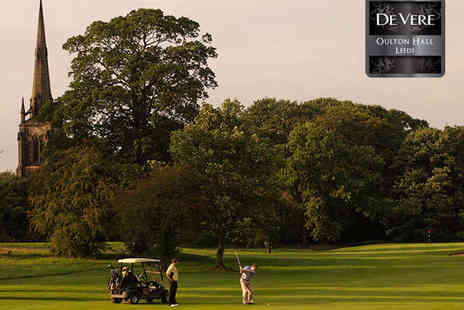 De Vere Oulton Hall Hotel - 18 Holes of Golf and 50 Balls to Use for One - Save 75%