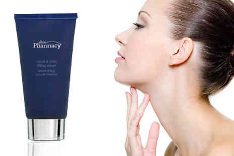 Skin Pharmacy - Decrease those visible effects of gravity on your skin with this Neck & Chin Lifting Serum - Save 83%
