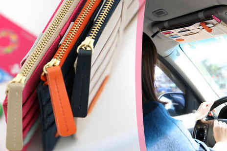 UKCJS - Keep your car clean and organised, with the help of this Sun Visor Organiser - Save 67%