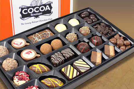 Cocoa Boutique - 300g selection of signature chocolates - Save 60%