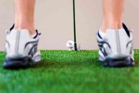 Putters Golf Bar - Crazy Golf For Two - Save 40%