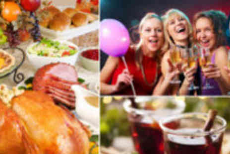 The Grand by Thistle - Christmas event including three course meal mulled wine disco - Save 62%