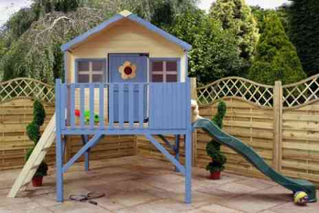 Mercia Garden Products - Childrens Wooden Playhouse - Save 36%