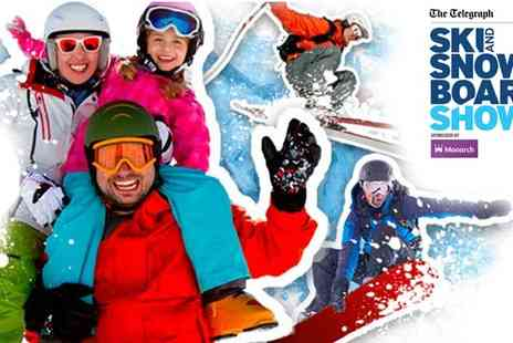 Vos Media - Two Tickets to The Telegraph Ski & Snowboard Show sponsored - Save 50%