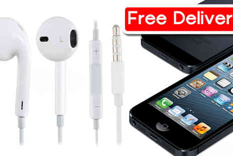 RedHotDealz - IPhone style earbuds with microphone & volume control - Save 61%