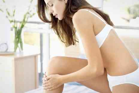 The Moll Clinic - Laser Hair Removal Six Sessions on One Medium Areas - Save 40%