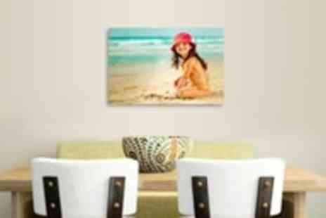 Your Image On Canvas - A3 personalised canvas print - Save 92%