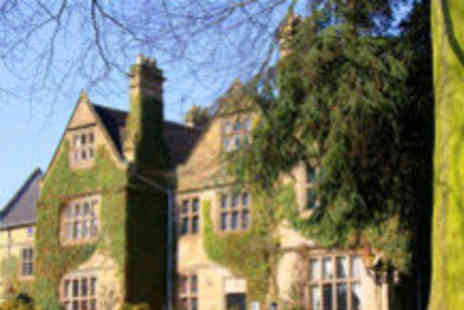 Weston Hall Hotel - One night stay for two, including Christmas party and dinner - Save 61%