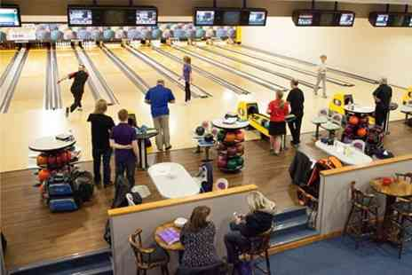 The Bowl Bromborough - Unlimited Bowling With Pizza For Four - Save 63%
