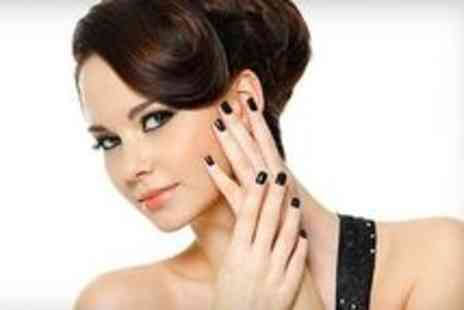 Crystal Nails - Gel Nails With Hand Massage For One - Save 55%