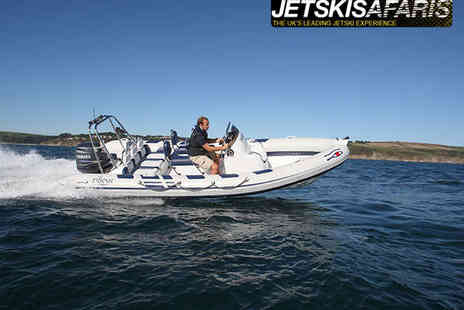 Jetski Safaris - Skippered Powerboat Tour of Poole Harbour and Jurassic Coastline - Save 55%