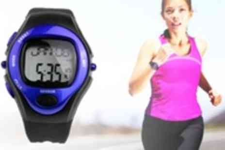 Assist World - Pulse Sports Watch with heart rate monitor and calorie report - Save 81%