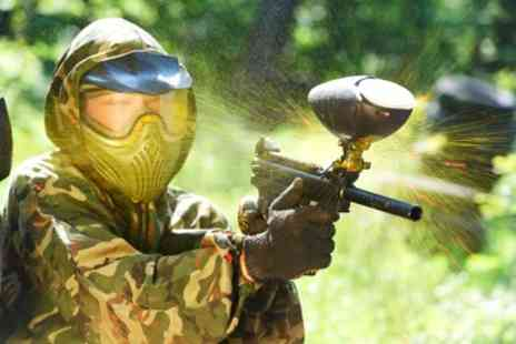 Frontline Paintball - Play For One - Save 50%