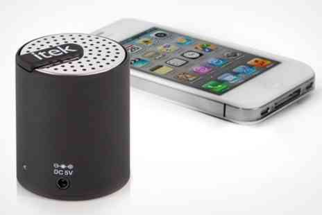 Deluxe Home Brands - Bluetooth Mini Speaker - Save 70%