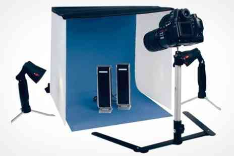 ASK Direct - Konig Photo Studio with 40cm x 40cm surround - Save 50%