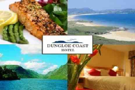 Dungloe Coast Hotel - Two nights B&B with 2 course meal - Save 35%