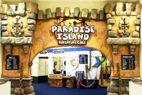 Paradise Island Adventure Golf - 18 Holes of Adventure Golf For Two - Save 57%