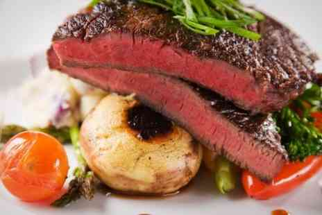 The Blue Steak - Three Courses For Two - Save 58%