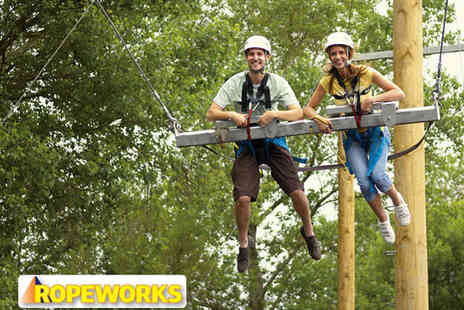 Ropeworks - High Rope Adventure Experience - Save 49%
